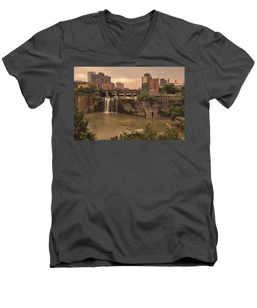 Good Morning Rochester Men's V-Neck T-Shirt
