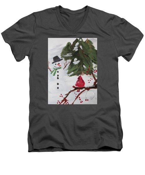 Good Tidings Men's V-Neck T-Shirt