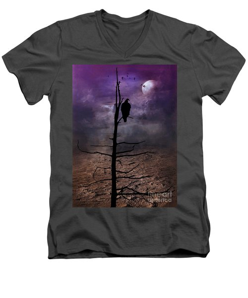 Gothic Dream  Men's V-Neck T-Shirt