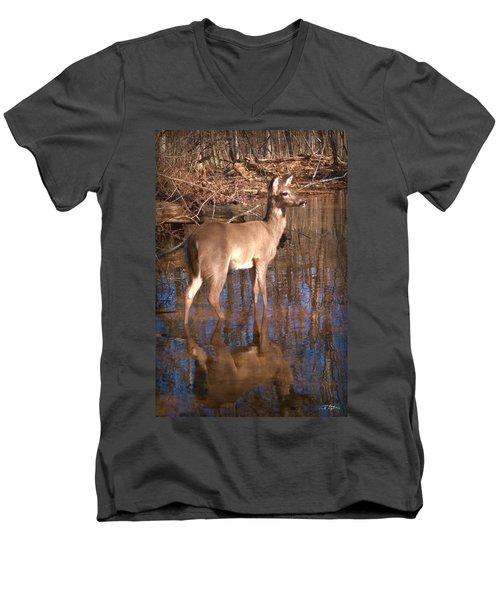 Grace Men's V-Neck T-Shirt by Bill Stephens