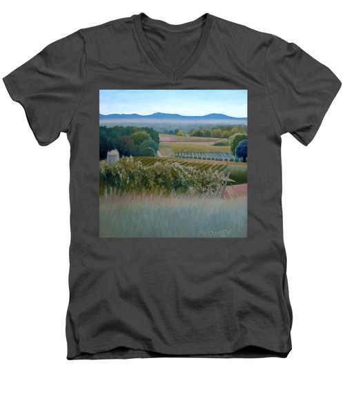 Grace Vineyards No. 1 Men's V-Neck T-Shirt