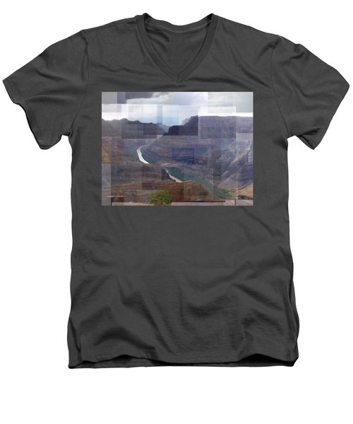 Grand Canyon Guano Point Men's V-Neck T-Shirt