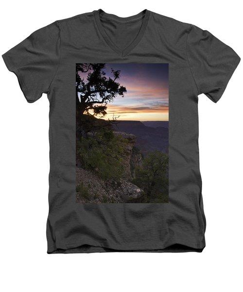 Grand Canyon Sunset 2 Men's V-Neck T-Shirt