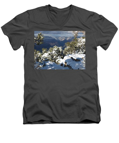 Grand Men's V-Neck T-Shirt