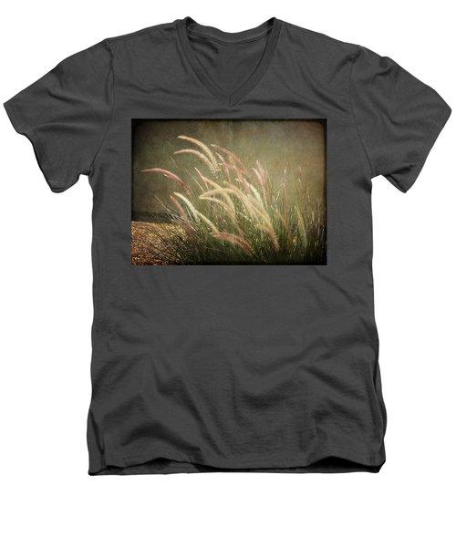 Grasses In Beauty Men's V-Neck T-Shirt