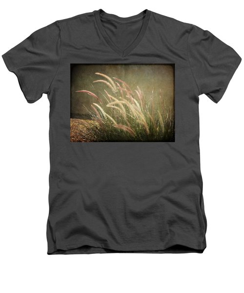 Grasses In Beauty Men's V-Neck T-Shirt