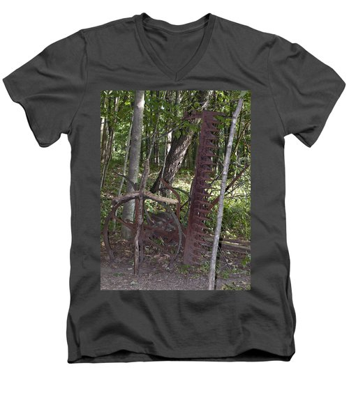 Grave Site Men's V-Neck T-Shirt by Tara Lynn