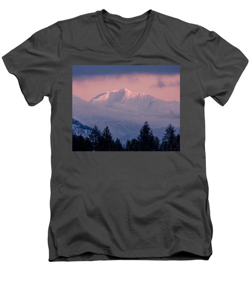 Men's V-Neck T-Shirt featuring the photograph Great Northern by Jack Bell