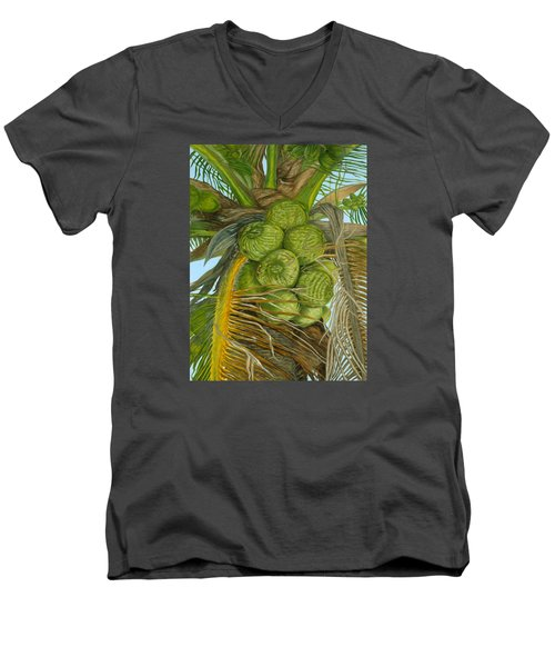 Green Coconut Men's V-Neck T-Shirt