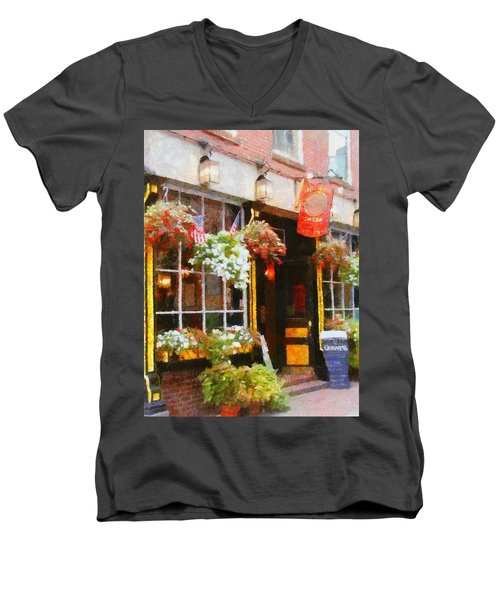 Green Dragon Tavern Men's V-Neck T-Shirt