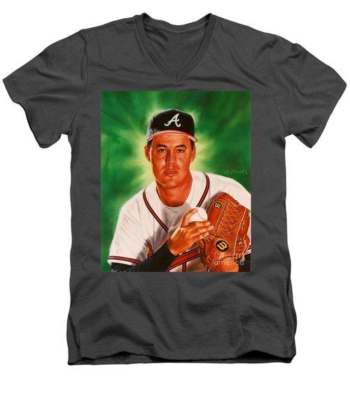 Greg Maddux Men's V-Neck T-Shirt