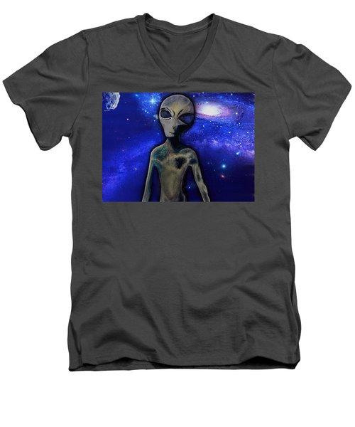 Grey By M.a Men's V-Neck T-Shirt