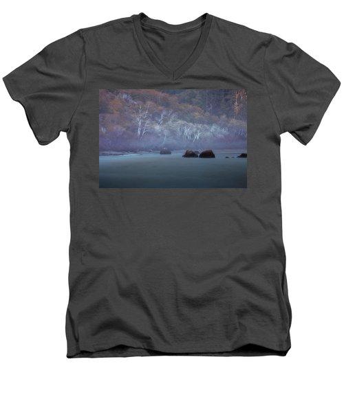 Greyson's Playground Men's V-Neck T-Shirt by Mark Alder