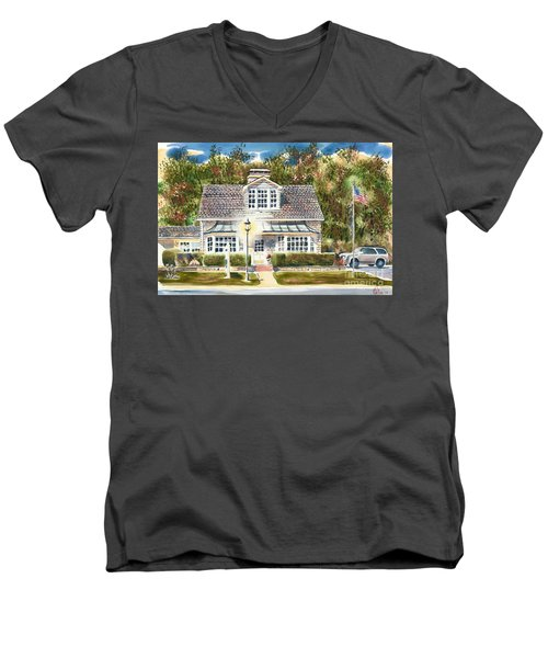 Greystone Inn II Men's V-Neck T-Shirt