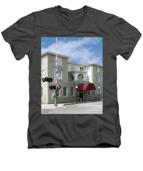 Greystone Of Paris Men's V-Neck T-Shirt