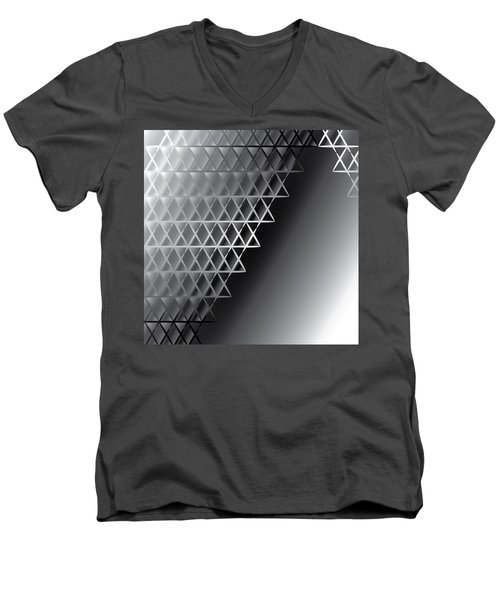 Grid 60 Float Men's V-Neck T-Shirt