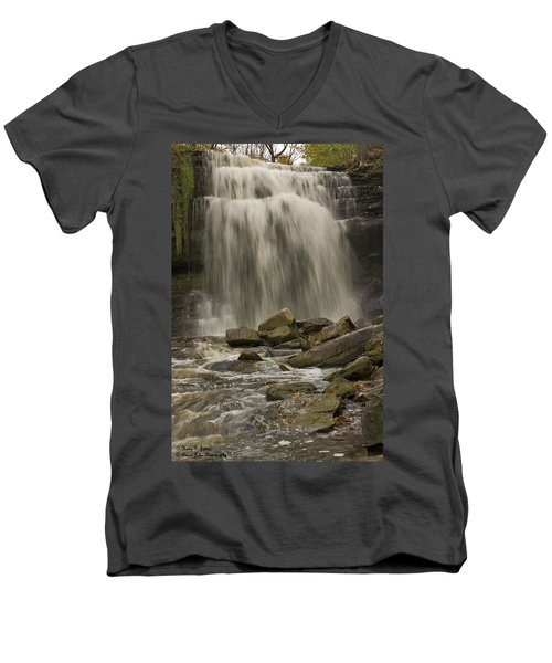 Grindstone Falls Men's V-Neck T-Shirt