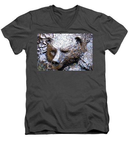 Grizzly Bear 2 Men's V-Neck T-Shirt