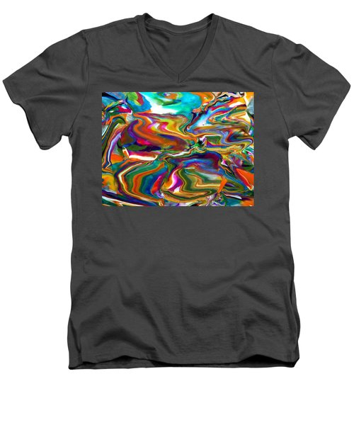 Groovy Men's V-Neck T-Shirt