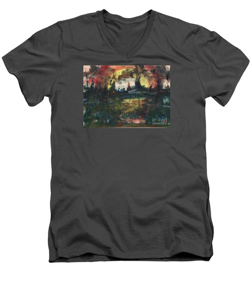 Ground Zero Men's V-Neck T-Shirt