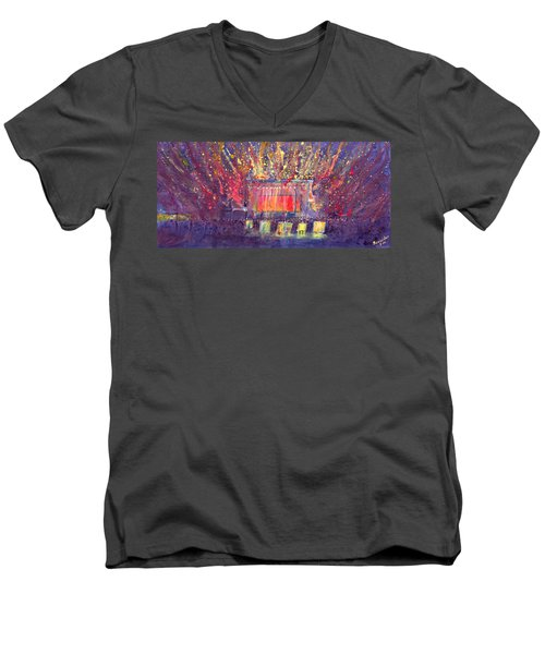 Groundation At Arise Music Festival Men's V-Neck T-Shirt