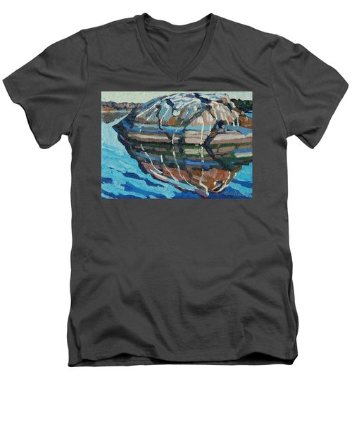 Gull Rock Men's V-Neck T-Shirt