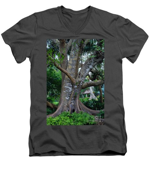 Gumby Tree Men's V-Neck T-Shirt