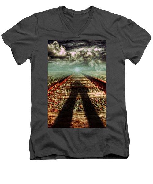 Gunslinger Men's V-Neck T-Shirt