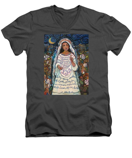 Hail Mary Men's V-Neck T-Shirt