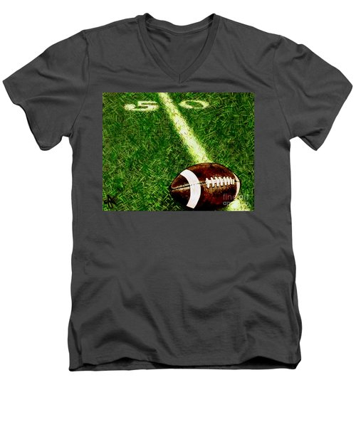 Halfway There  Men's V-Neck T-Shirt by Jackie Carpenter