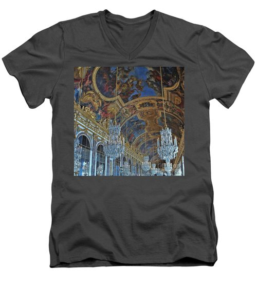 Hall Of Mirrors - Versaille Men's V-Neck T-Shirt