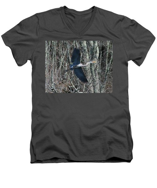 Men's V-Neck T-Shirt featuring the photograph Hallelujah by Neal Eslinger