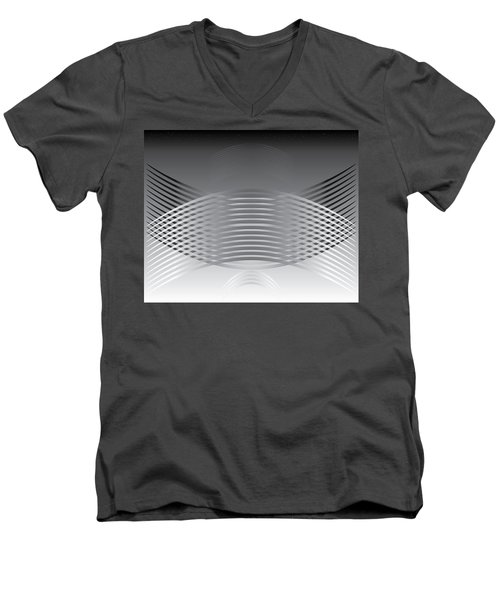 Hallenwave Men's V-Neck T-Shirt by Kevin McLaughlin