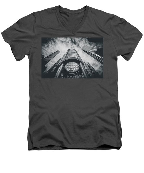 Halo Men's V-Neck T-Shirt