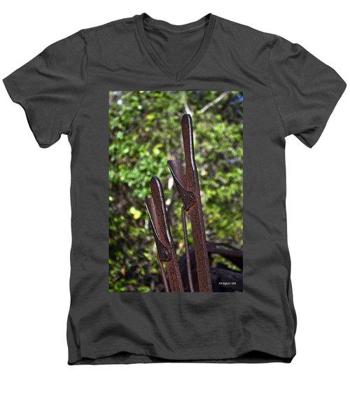 Hand Levers Men's V-Neck T-Shirt