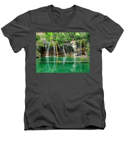 Hanging Lake 1 Men's V-Neck T-Shirt