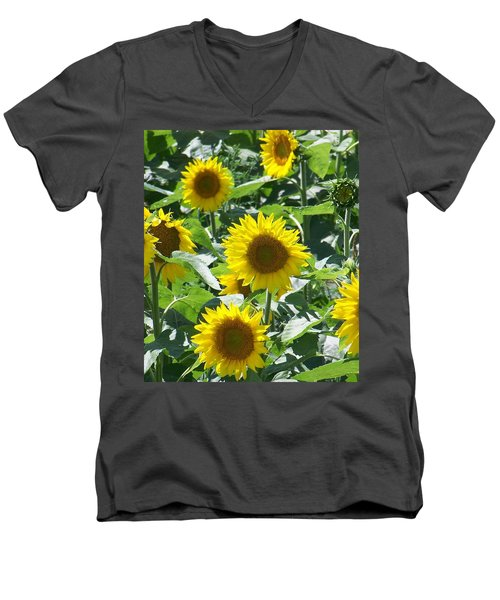 Happy Faces Men's V-Neck T-Shirt