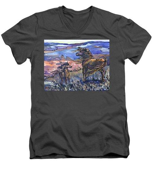 Harbinger Men's V-Neck T-Shirt