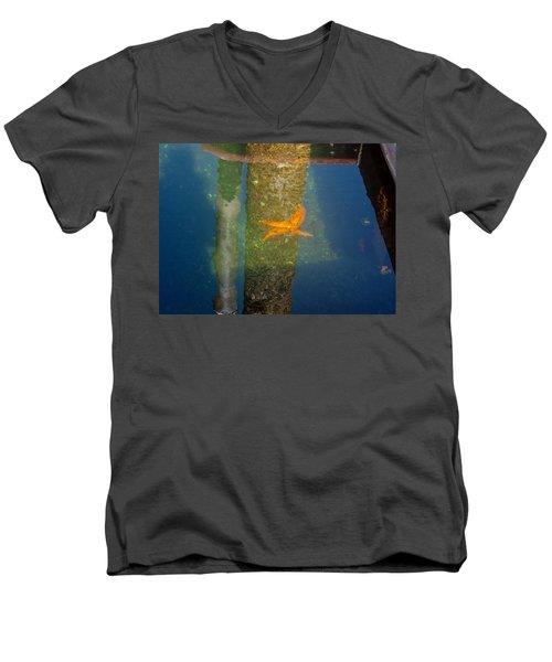 Harbor Star Fish Men's V-Neck T-Shirt