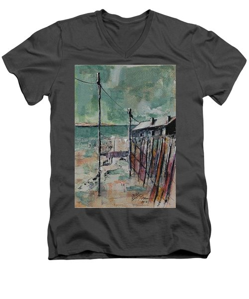 Harbormaster's Home Away From Home Men's V-Neck T-Shirt