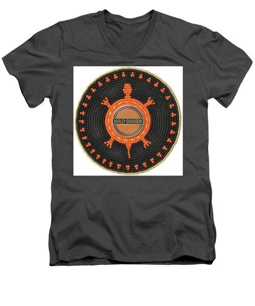 Harley Davidson Iv Men's V-Neck T-Shirt