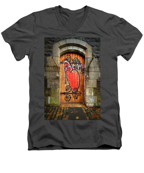 Have A Heart - Don't Desecrate Men's V-Neck T-Shirt