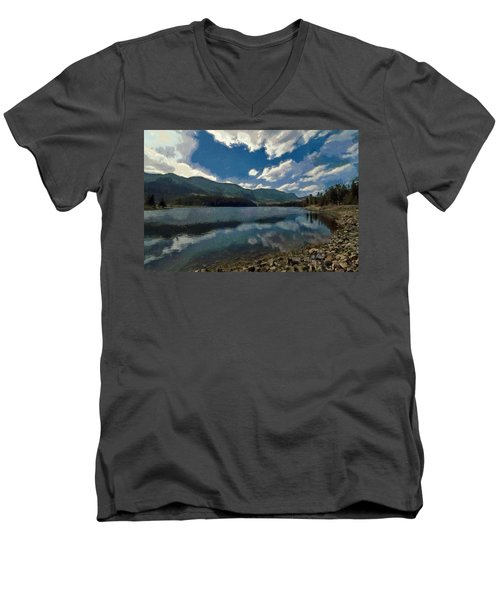 Haviland Lake Men's V-Neck T-Shirt
