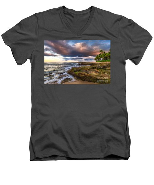 Hawaiian Dream Men's V-Neck T-Shirt