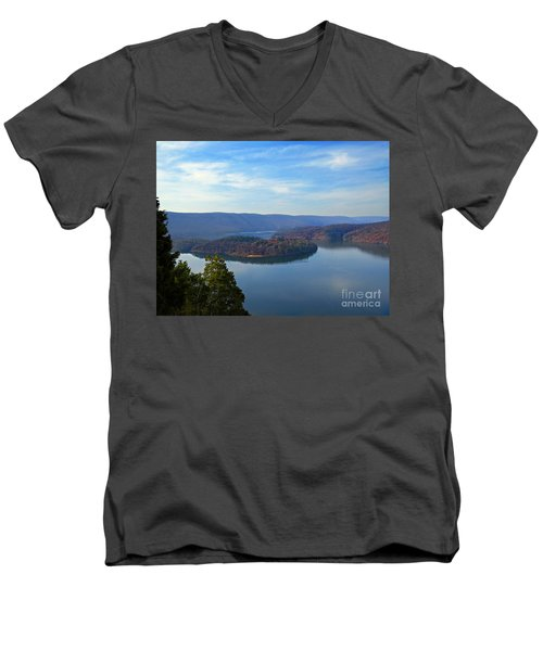 Hawn's Overlook Men's V-Neck T-Shirt