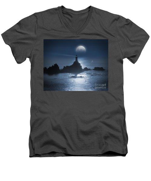Heading For The Light Men's V-Neck T-Shirt