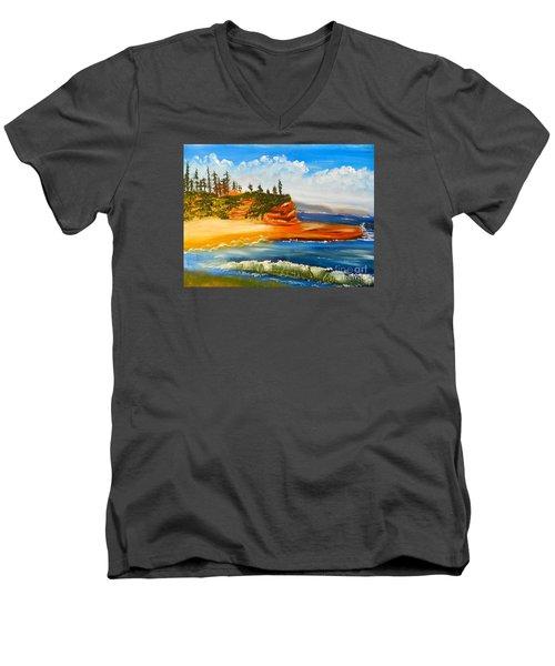 Headlands Men's V-Neck T-Shirt
