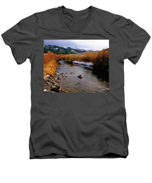 Headwaters Of The River Of No Return Men's V-Neck T-Shirt