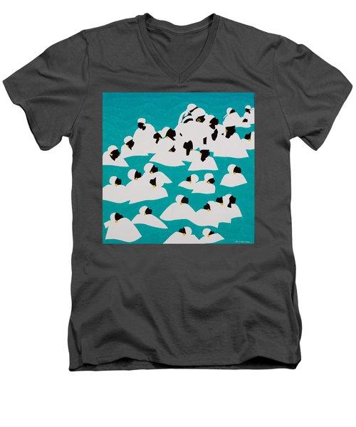 Healing Waters Haiti Men's V-Neck T-Shirt