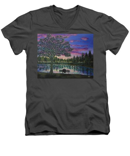 Heartwell Park Men's V-Neck T-Shirt